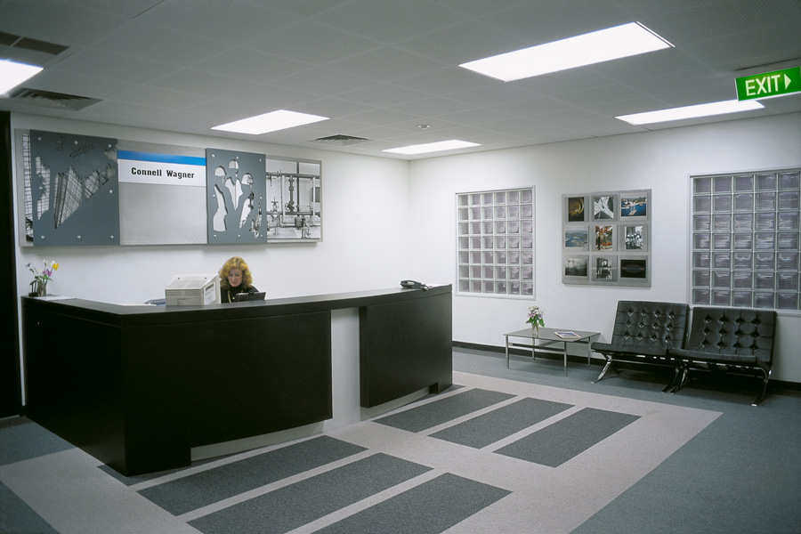 Connell Wagner, Reception Area, S.A. Artist in Residence 1993